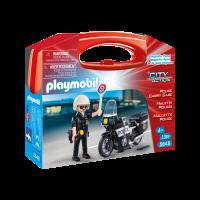 Playmobil - Set portabil - politie