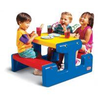 Little Tikes - Masuta picnic cu 4 locuri albastra