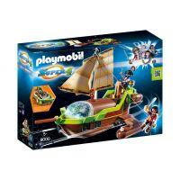 Playmobil - Super 4 - Barca Piratului Cameleon