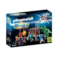 Playmobil - Super 4 - razboinici cu t-rex