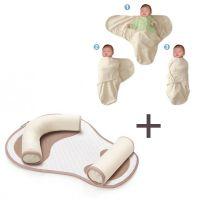 Pachet promo Suport flexibil de somn Cosypad + Sistem de infasat 0-3 luni