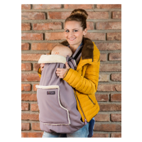 Protectie babywearing impermeabila Isara si Gluga Frosted Almond Taupe