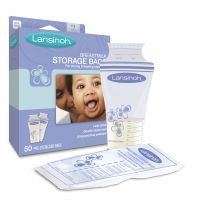 Lansinoh - Pungi de stocare lapte matern 50 buc