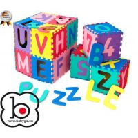 BabyGo - Salteluta de joaca puzzle cu cifre si litere