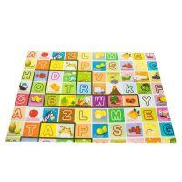 Covoras de joaca termic si interactiv Alfabet 180x120x1.5 cm tip puzzle