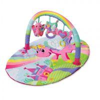 Salteluta de joaca Infantino Explore & Store Activity Gym Pink
