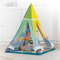Salteluta de joaca tip cort Infantino  Grow with me Tent