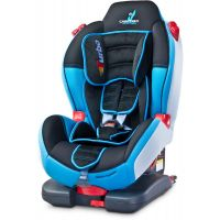 Caretero - Scaun auto Sport Turbofix Isofix 9-25 Kg Blue