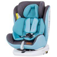 Scaun auto rotativ 0-36 kg cu Isofix Chipolino Tourneo baby blue