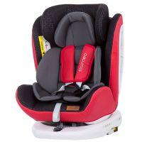 Scaun auto rotativ 0-36 kg cu Isofix Chipolino Tourneo  red