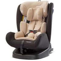 Caretero Scaun auto 0-36 Kg Rear-facing 360 Isofix Mokki Beige