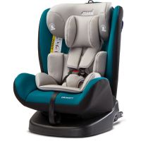 Caretero Scaun auto 0-36 Kg Rear-facing 360 Isofix Mokki Dark Green