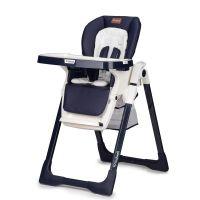 Scaun masa copii cu spatar reglabil Kidwell Prime Blue