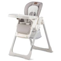 Scaun masa copii cu spatar reglabil Kidwell Prime Grey