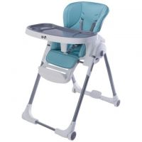 Scaun masa bebe cu spatar reglabil BP Luxurious Blue