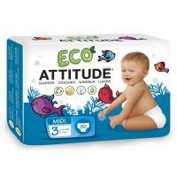 Attitude - Scutece ecologice de unica folosinta marime 3