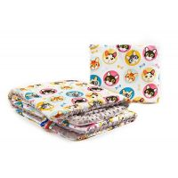 Sensillo - Set perna si pilota Minkey Light cat/grey