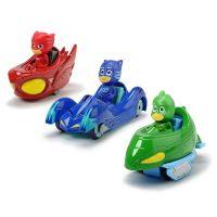 Set 3 masinute Eroi in pijama cu 3 figurine Dickie Toys