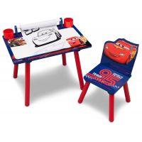 Delta Children - Set masuta pentru creatie cu scaunel Cars