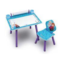 Delta Children - Set masuta pentru creatie cu scaunel Frozen