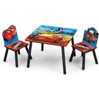 Delta Children - Set masuta si 2 scaunele McQueen