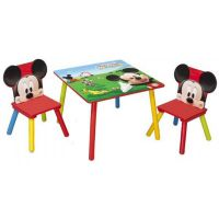 Delta Children - Set masuta si 2 scaunele Mickey