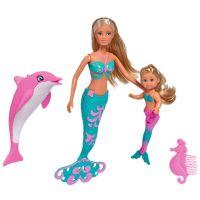 Set Simba Steffi Love Mermaid Friends 29 cm cu accesorii