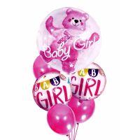 Set 6 baloane Baby Shower It's a Girl