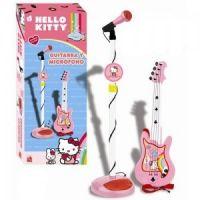 Reig Musicals - Set chitara si microfon Hello Kitty