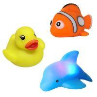 Konfidence - Set jucarii de baie luminoase cu senzor Floating Blinkies