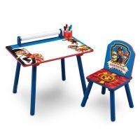 Delta Children - Set masuta pentru creatie cu scaunel Paw Patrol