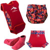 Konfidence - Set echipament inot pentru bebelusi Strawberry