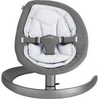 Nuna - Sezlong automat Leaf Curv French Grey