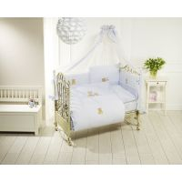 Lenjerie de pat Feretti Duetto Sleepy Bears Blue