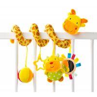 Sensillo - Spirala cu jucarii pentru patut/carucior Giraffe