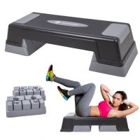 Stepper aerobic / fitness ajustabil 3 niveluri de inaltime, suporta pana la 350 kg
