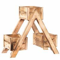 Suport ghivece plante din lemn masiv