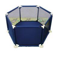 Mama and Kids - Tarc copii hexagonal Nova Blue