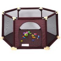 Mama and Kids - Tarc copii hexagonal Nova Brown