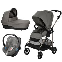 Cybex - Carucior 3 in 1 Melio Soho Grey