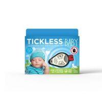 Dispozitiv ultrasonic anticapuse portabil 0-5 ani alb Tickless Baby