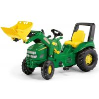 Rolly Toys -Tractor cu pedale  si excvator 46638