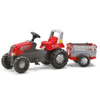 Rolly Toys - Tractor cu remorca 800261