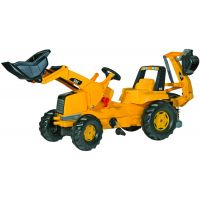 Rolly Toys - Tractor excavator cu pedale 813001