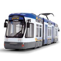 Tramvai City Liner albastru Dickie Toys