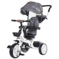 Tricicleta cu sezut rotativ Chipolino Carretera graphite