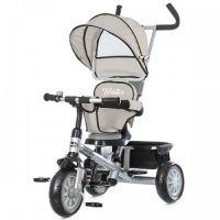 Chipolino - Tricicleta cu sezut reversibil Twister Gri