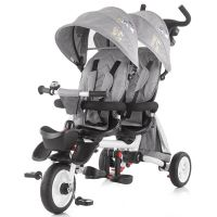Chipolino - Tricicleta gemeni pliabila 2Fun grey