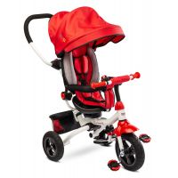 Tricicleta pliabila cu sezut reversibil Toyz Wroom Red