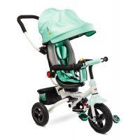Tricicleta pliabila cu sezut reversibil Toyz Wroom Turquoise